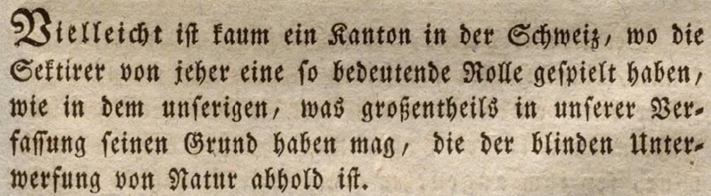 Appenzellisches Monatsblatt. Der Offenkundigkeit verpflichtet