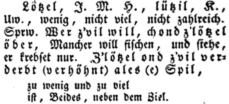 Titus Toblers «Appenzellischer Sprachschatz». Eine Fundgrube aus dem Jahr 1837