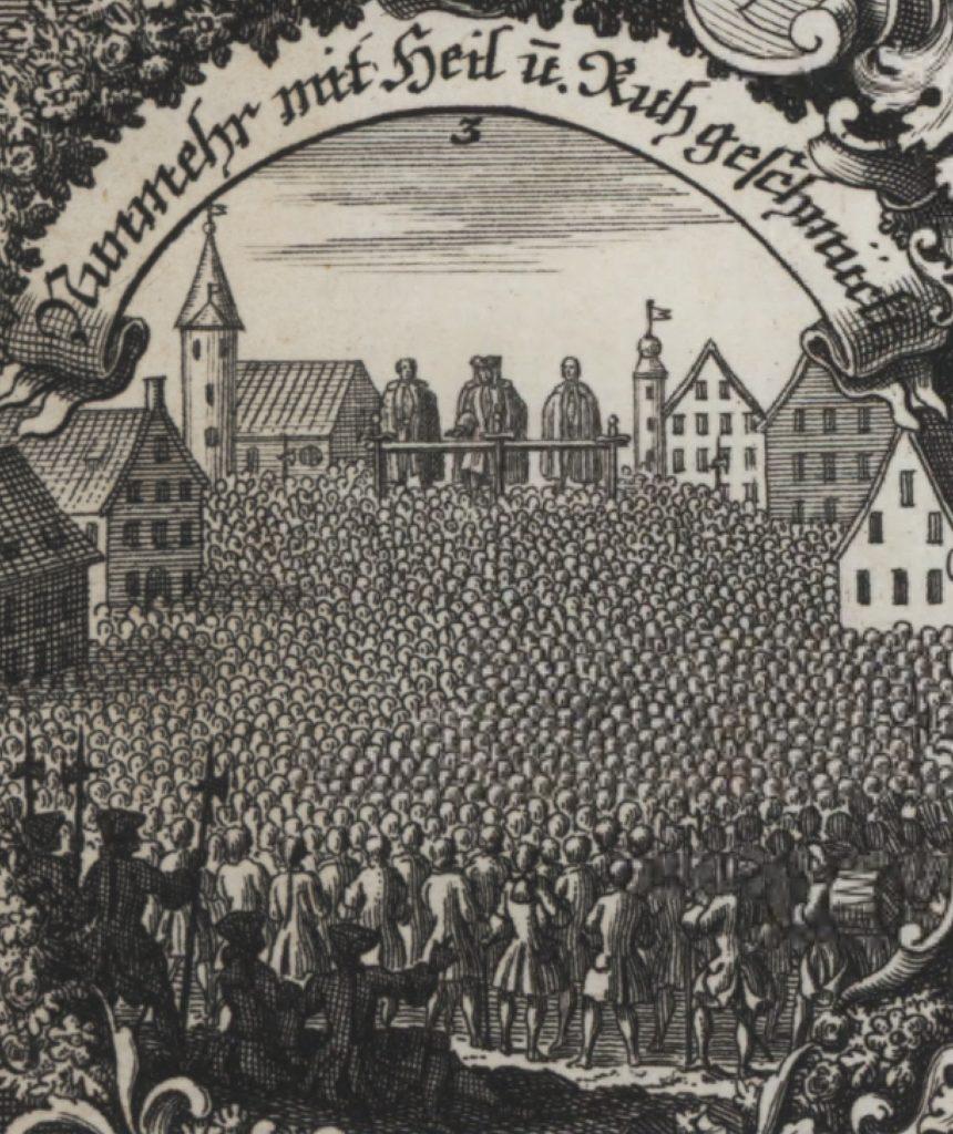 Neue Appenzeller Chronik von Gabriel Walser. Auf Tour durch die Appenzeller Geschichte bis 1732