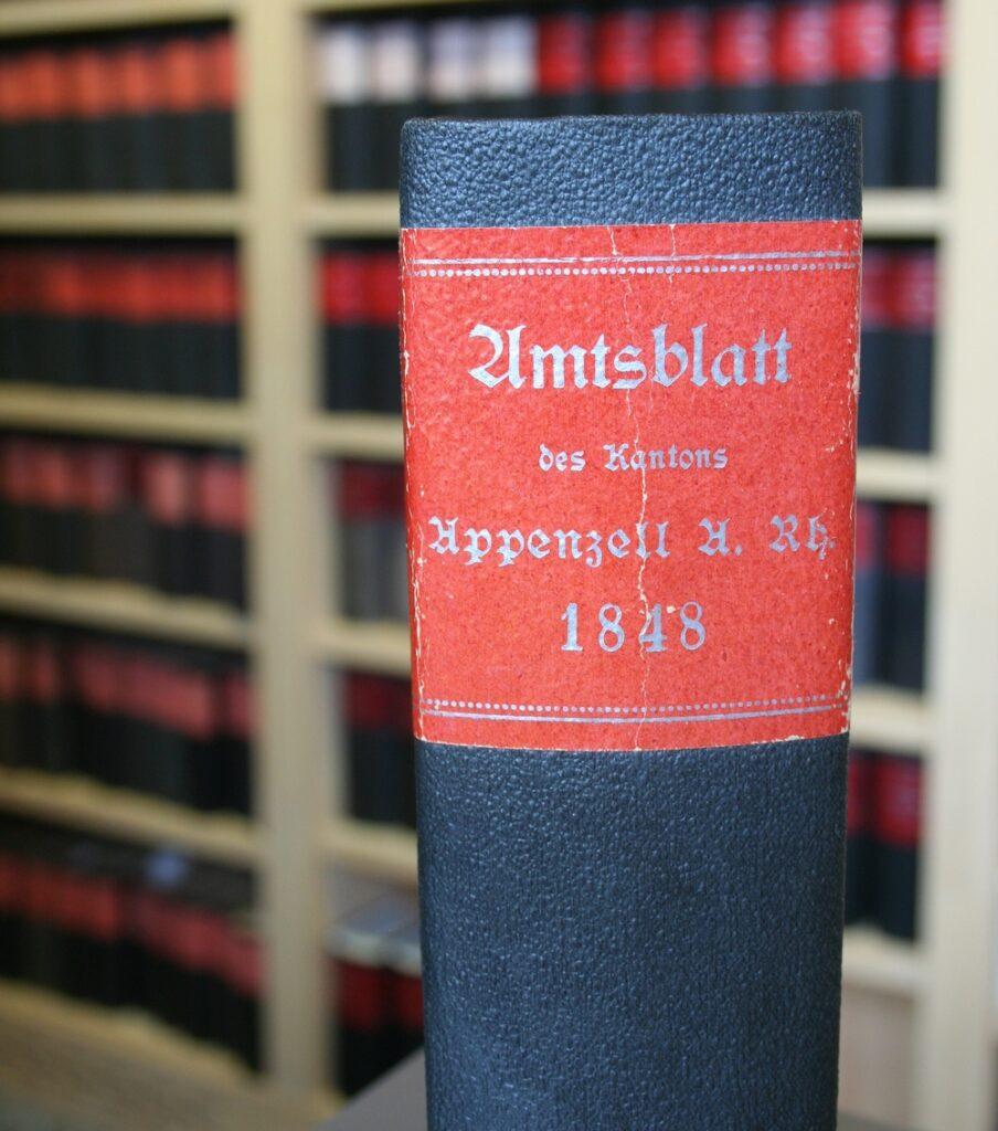 Ausserrhoder Amtsblatt 1834 bis 1900. Entdeckungsreise hinter die «Fassade» der amtlichen Publikation